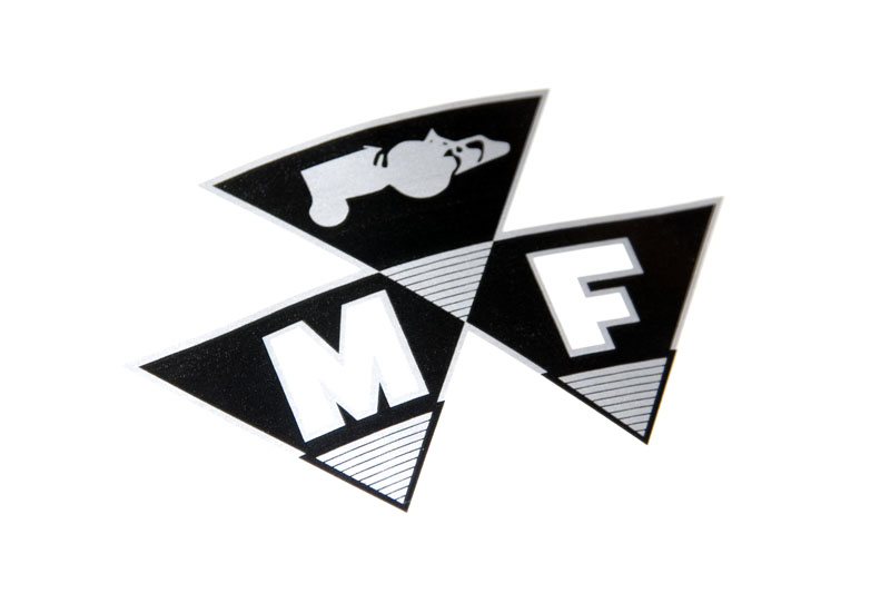 Massey Ferguson Decal Kits : Victoryfield tractor parts decal kit mf