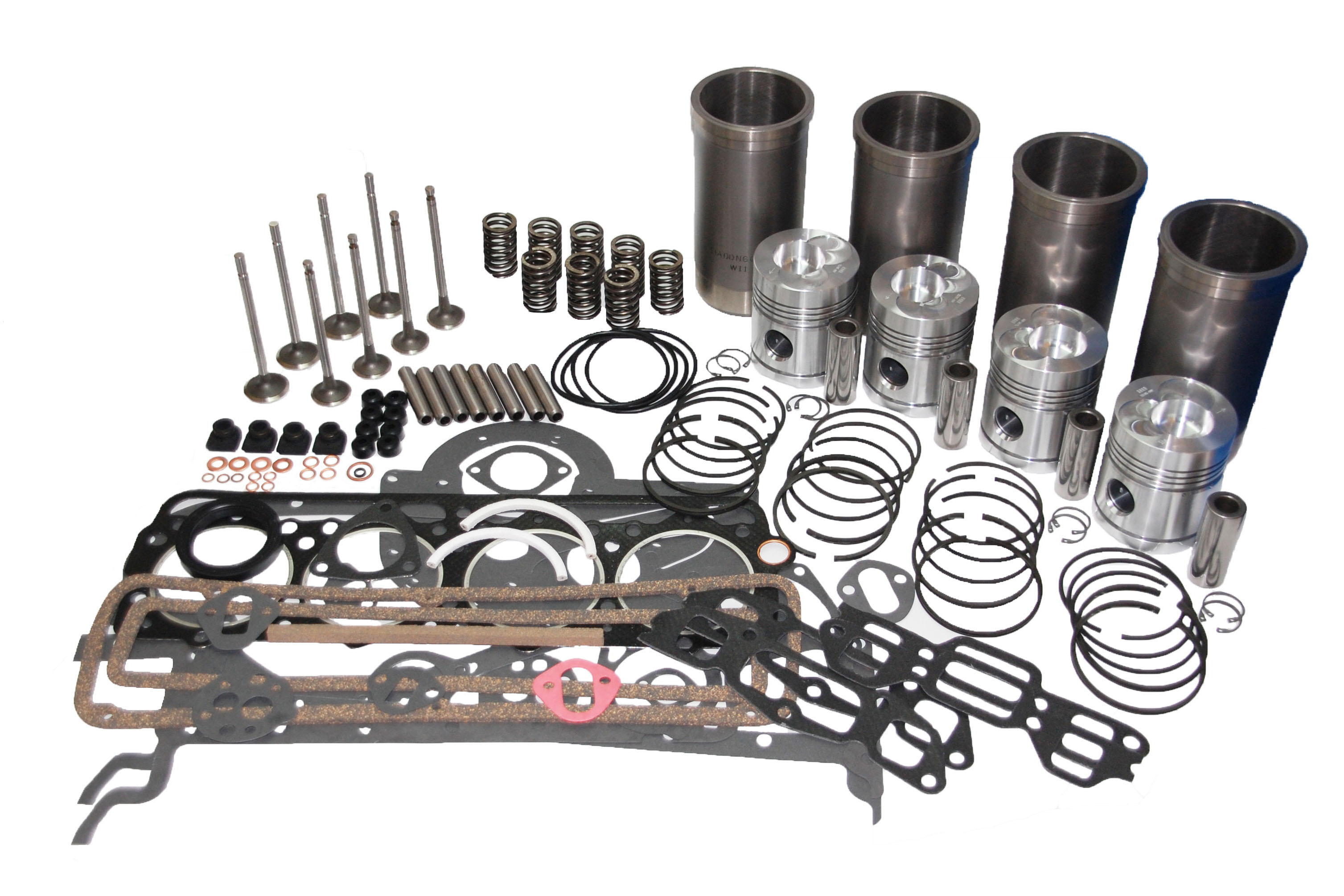 Victoryfield Tractor Parts - Engine Overhaul kit - MF35 & 135 with ...