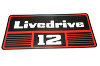 Livedrive 12 dekal - David Brown